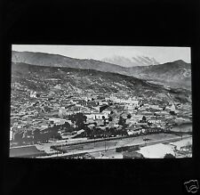 Glass Magic lantern slide BOLIVIA LA PAZ C1910 SOUTH AMERICA