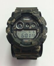 CASIO G-SHOCK Limited Edition Military Camouflage Resin Digital WATCH GD120CM-5