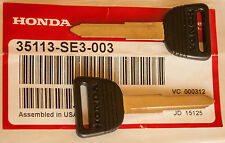 OEM Honda blank key master CRX 84-87, Civic 84-87, Accord 82-89, Prelude 84-91
