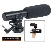 Mini Condenser Pro Microphone For Sony HDR-CX360 HDR-CX380 HDR-CX430 HDR-CX560