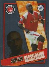 TOPPS I-CARD SERIES 2006-07 #025-CHARLTON ATHLETIC-JIMMY-FLOYD HASSELBAINK