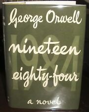 George Orwell 1984 Nineteen Eighty-Four 1949 HC green DJ UK 1st ed first print
