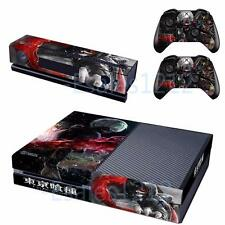 Anime Tokyo Ghoul Kaneki Ken Skin Decals for Xbox One Console Kinect Controllers