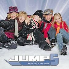JUMP 5 - ALL THE JOY IN THE WORLD - CHRISTMAS - 8 TRACKS -CD-NEW