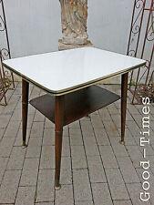 Top Midcentury-Modern-table-Tisch-Beistelltisch-Couchtisch-Teak-50er-60er