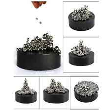 Magnetic Sculpture Desk Toy w/ Stainless Steel Ball Stress Relief Office Decor