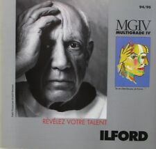 Catalogue - Document commercial ILFORD 1994/95   - MGIV Multigrade IV -