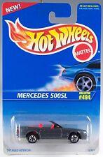 Hot Wheels No. 494 Mercedes 500SL Gray w/5SP's MOC