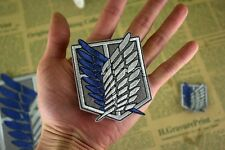 Attack on Titan Cosplay Scouting Legion Recon Corps Badge Patchs Embroidery #Mid