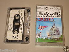 THE EXPLOITED - Live At The Whitehouse - MC Cassette un/official polish tape '92