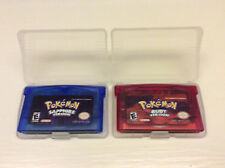 Nintendo Pokemon Ruby + Sapphire Versions (USA 2003) for Game Boy Advance GBA DS