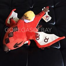 Gudetama x Monster Hunter Jumbo Plush Fire Liolaeus Dragon MHX Generations JAPAN