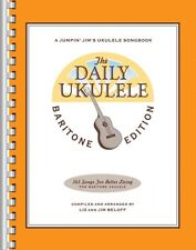 The Daily Ukulele Baritone Edition Sheet Music Real Book Fake Book NEW 000121280
