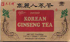 2 boxes Prince of Peae Korean Ginseng Instant Tea (100 Bags-7 oz . each box )