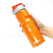 N-rit Stainless Steel Water Sports Bottle 800ml Flip Cycle Travel Bycle Jogging