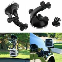 Suction Cup Mount Holder + Tripod Mount Adapter For GoPro Hero 3+ 3 2 1 Camera