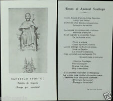 OLD BLESSED SAINT JAMES HOLY CARD ANTHEM ANDACHTSBILD SANTINI . SEE MY SHOP C650