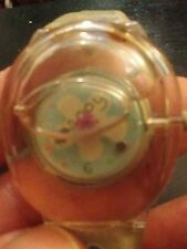 Vintage Happy water ladies wrist watch, running with new battery  NR