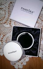AUTHENTIC PANDORA LIMITED EDITION SMALL PORCELAIN ROUND CHARM BOX W/INSERT NWT