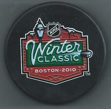 Boston Bruins  2010 NHL Winter Classic  Fenway Park - Souvenir Hockey Puck