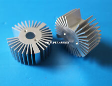 47*19mm Round Oxidation Sunflower Aluminum Heatsink for 1W/3W/5W LED Lamp