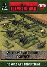 Flames of War German SS Heavy Artillery Battery (GBX56) NEW