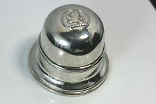 C158 Birks Regency Plate Ring Box Lion Emblem Dome Top Excellent !!