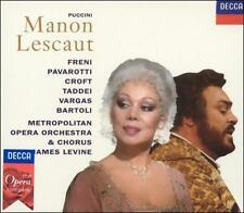 Giacomo Puccini: Manon Lescaut (CD, Oct-1993, 2 Discs, London) (cd2985)