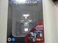 Terminator Genisys Blu-Ray DVD Digital Endo Skull Limited Edition New Gift Set
