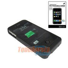 FUNDA CARCASA BATERIA + 2 PROTECTORES IPHONE 4G 4S S FUNDA CARGADOR 1900 mAh