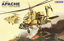 AH-64A Apache Plastic Model Original Production Attack Helicopter Hapdong 1/35