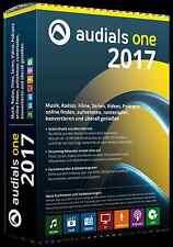 Audials One 2017 Box mit CD/DVD Musik Filme Radio Online aufnehmen, runterladen
