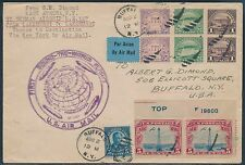 1929 R-T-W 1ST FLIGHT COVER CACHET VIA LZ127 ZEPPELIN LAKEHURST TO N.Y. BS2986