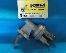 "1976 1982 Ford Mercury 4cyl 200"" 140""  KEM Factory Rebuilt Fuel Pump 1171"