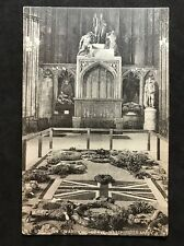 RP Vintage Postcard - London #WA14  -  Unknown Warriors Grave Westminster Abbey