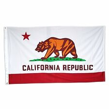 California Republic Flag 4x6 Foot Flag Banner (Heavy Duty 150D Super Polyester)