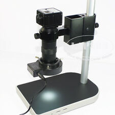 5.0MP HD Industrial USB-500 Digital Microscope Camera + C-mount Lens + Stand UK