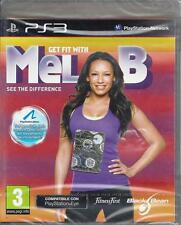 Playstation Ps3 gioco **GET FIT WITH MEL B** Nuovo Sigillato Italiano