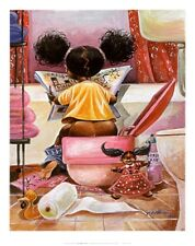 """Crossword Puzzle"" by  Frank Morrison - African American/ Childrens Art"