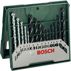 Genuine Bosch DIY 15 Piece Drill Metal Wood Masonary 2607019675 3165140465274