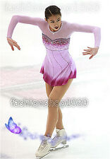2017 New Ice Figure Skating Dress  Baton Twirling Dress for Competitio xx242