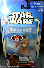 Star Wars Attack of the Clones MACE WINDU Geonosian Rescue New! Samuel Jackson