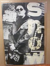 vintage 1993 black & white Snow original poster music artist  5913