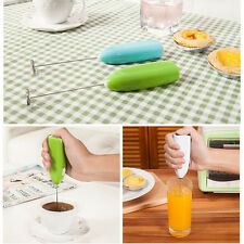 Electric Mini Egg Beater Handheld Coffee Whisk Mixer Kitchen Foamer Tools Gadget