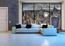 Gigante Carta Da Parati Foto New York Skyline Murale parete decor poster Carta Cityscape