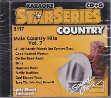 Male Country Hits, Vol. 7 [Sound Dance] by Karaoke (CD, Aug-1997, Sound...