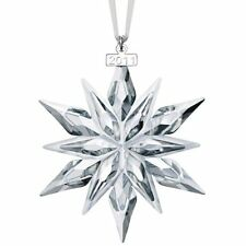 NEW IN BOX 2011 SWAROVSKI CRYSTAL CHRISTMAS ORNAMENT STAR/SNOWFLAKE #1092037
