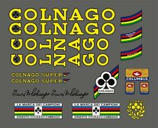 COLNAGO SUPER FRAME DECAL SET