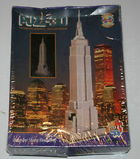 PUZZ 3D JIGSAW PUZZLE EMPIRE STATE BUILDING 902 PCS - NEW IN SHRINK - WREBBIT