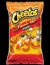 2 Bags Flamin' Hot Puffs Cheetos 8 oz Get Hot & Puffed Up with NFL Games WOW